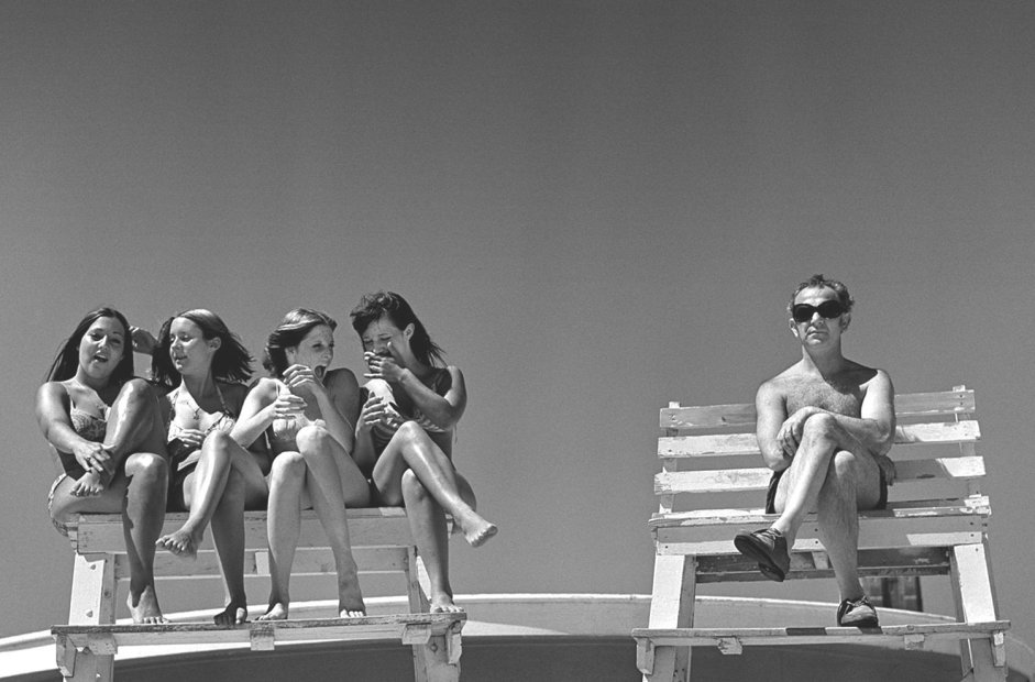 Joseph Szabo Lifeguard's Dream gelatin silver print 16 x 20 inches