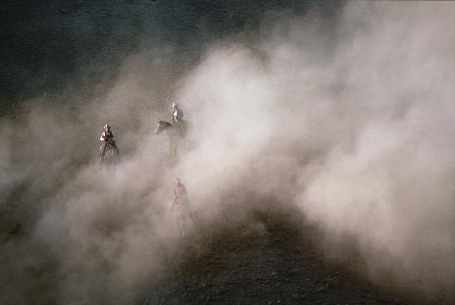 Norm Clasen, Dust Riders, Perma, MT, 1988