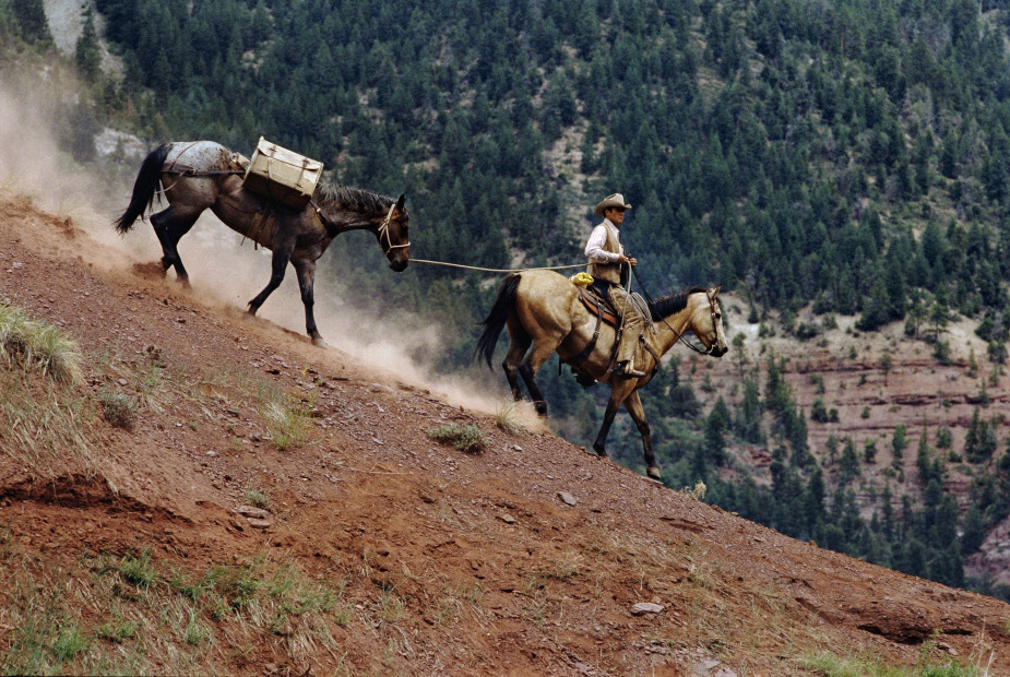 Norm Clasen, Heading Home, St. George, UT, 1985