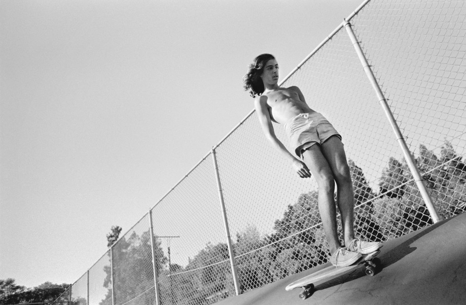 Hugh Holland, Hangin' at Kenter, Kenter Canyon Elementary, Los Angeles, CA, 1976