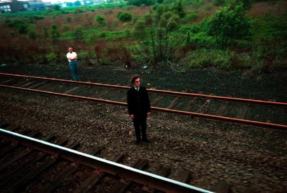 Paul Fusco RFK Funeral Train #2631 chromogenic print paper size: 20 x 24 inchesimage size: 15 x 22 inches