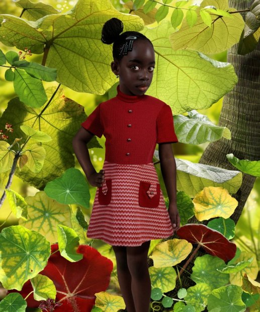 Ruud van Empel World #33 cibachrome print 20 x 24 inches