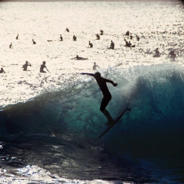 LeRoy Grannis Makaha (No. 62) chromogenic print paper size: 36 x 36 inchesimage size: 30 x 30 inches