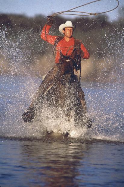Norm Clasen, Brazos River Run, Seymour, TX, 1987