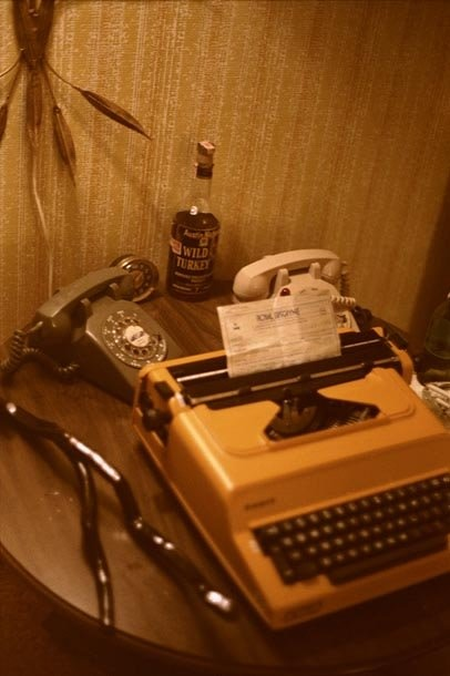 Hunter S. Thompson Still Life, Royal Biscayne, Florida chromogenic print paper size: 26 x 36 inchesimage size: 20 x 30...