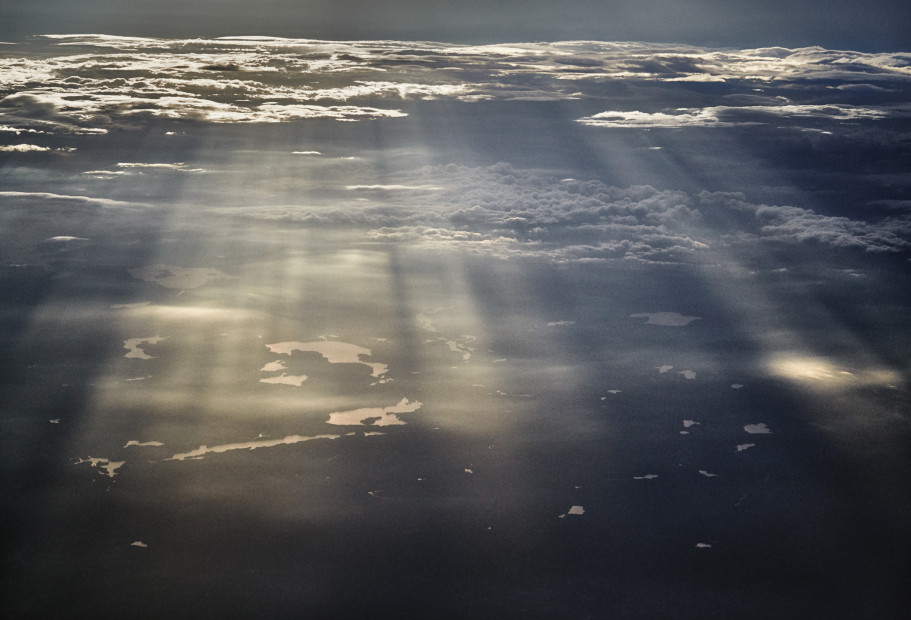 Scott Mead  JFK-LHR 05/30/2015 23:39:17  Early evening light, western Massachusetts