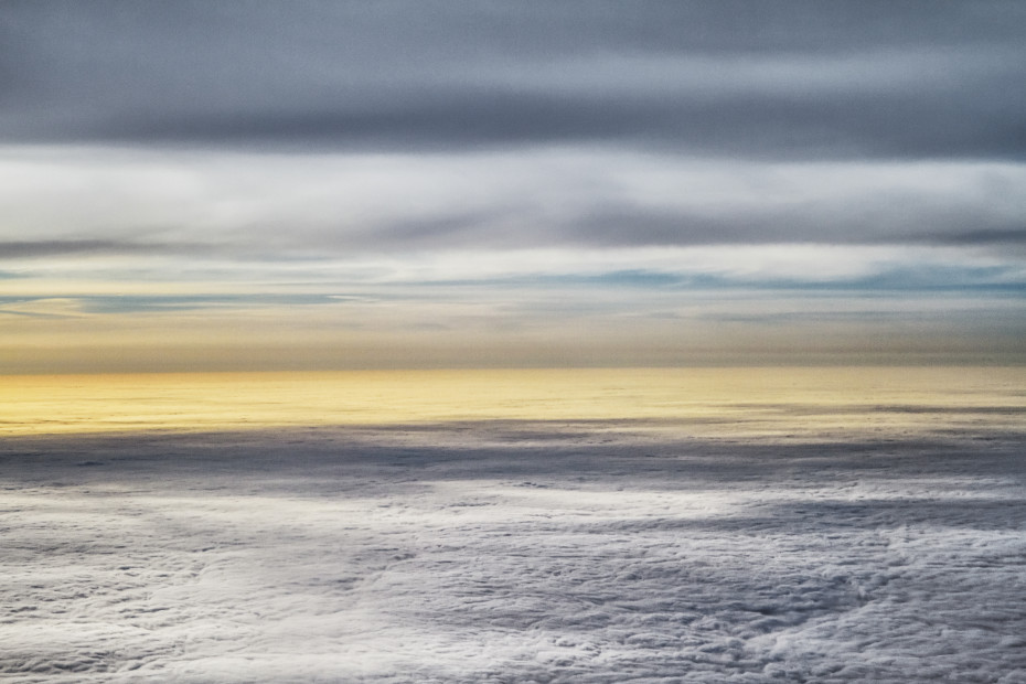 Scott Mead  JFK-LHR 09/02/2012 09:52:02  Morning clouds over Maine  Copyright The Artist