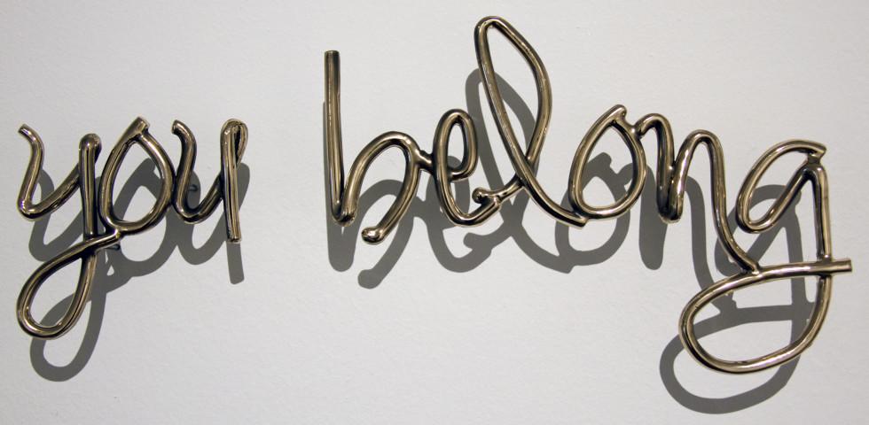 <span class=&#34;artist&#34;><strong>Tara Conley</strong></span>, <span class=&#34;title&#34;><em>you belong</em>, 2018</span>