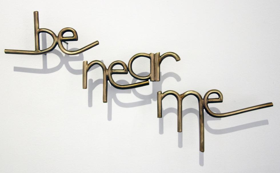 <span class=&#34;artist&#34;><strong>Tara Conley</strong></span>, <span class=&#34;title&#34;><em>be near me</em>, 2018</span>