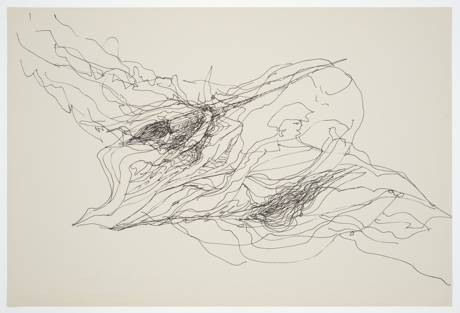 Margaret Raspé, Automatic Drawing 14, 1988