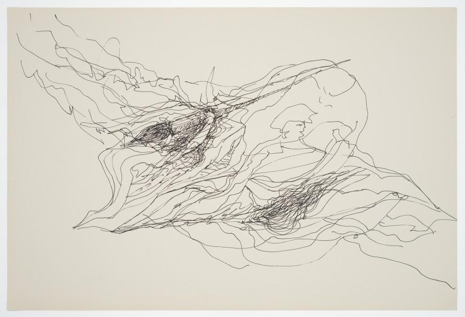 Margaret Raspé, Automatic Drawing 14, 1988