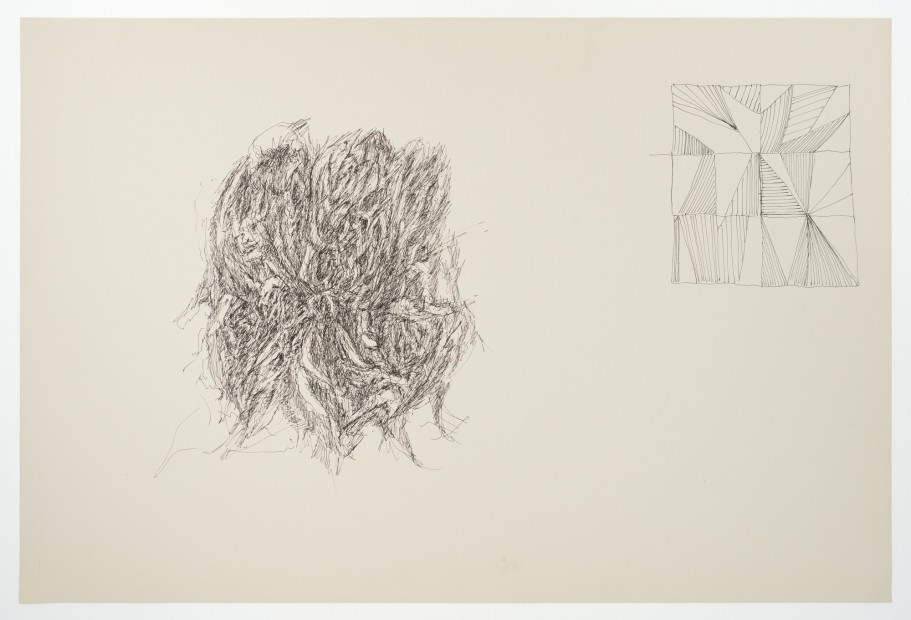 Margaret Raspé, Automatic Drawing 8, 1977