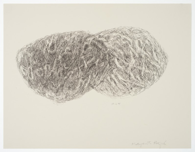 Margaret Raspé, Automatic Drawing 3, 1975
