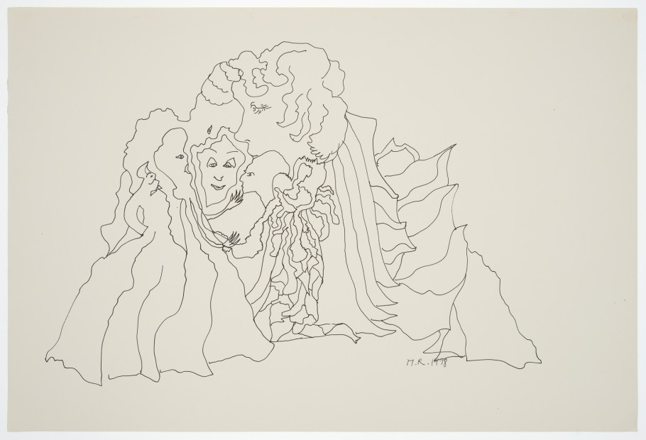 Margaret Raspé, Automatic Drawing 10, 1978