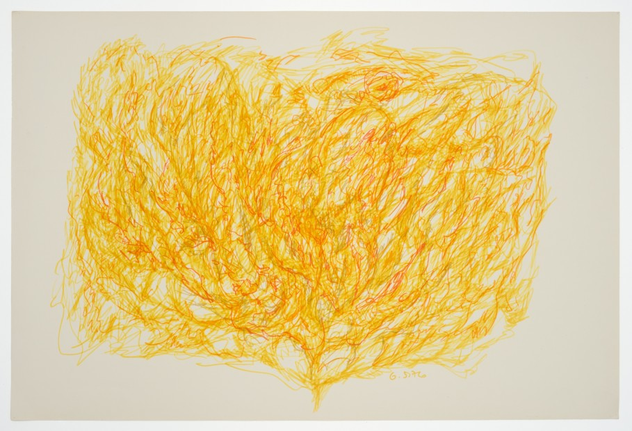 Margaret Raspé, Automatic Drawing 7, 1976