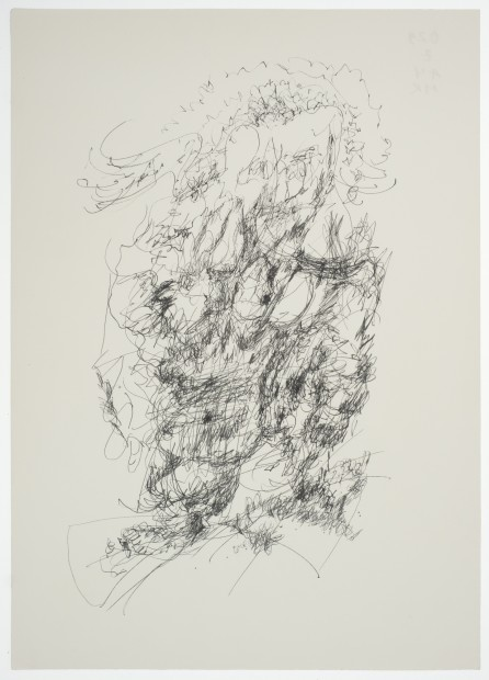 Margaret Raspé, Automatic Drawing 1, 1974