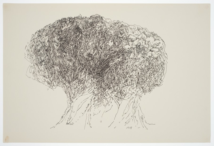 Margaret Raspé, Automatic Drawing 11, 1978