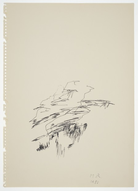 Margaret Raspé, Automatic Drawing 12, 1980