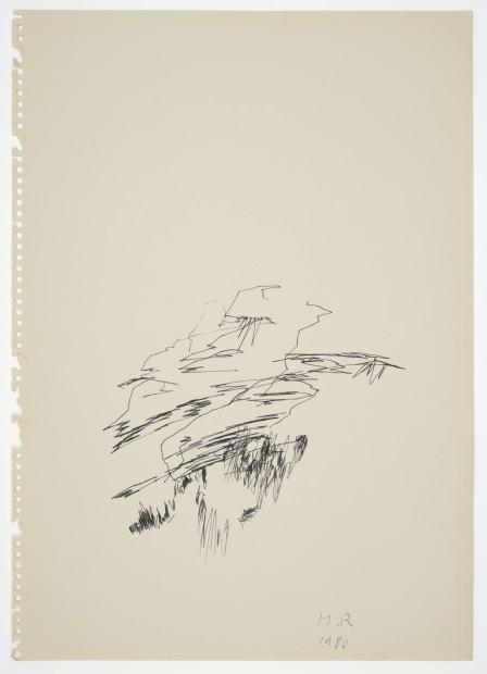 Margaret Raspé, Automatic Drawing 12, 1980