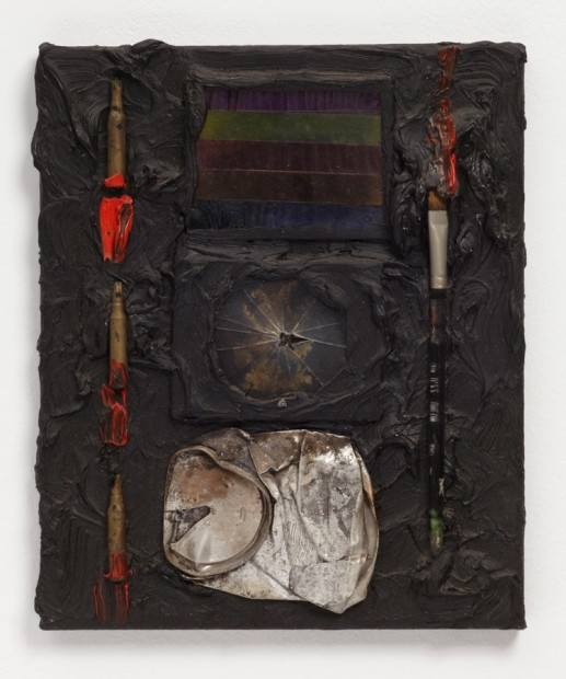 Pinxit, 1987 Oil and mixed media on canvas 31 x 26 x 3 cm 12/2 x 10/2 x 1/1 in