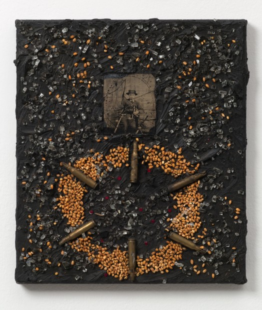 Sowers and Reapers, 1987 Oil and mixed media on canvas 35.6 x 30.5 cm 14 x 12 in