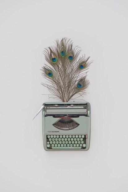 Baby Hermes II Typewriter, 2013 30 x 43 x 20 cm