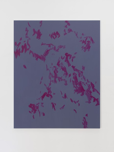 Evi Vingerling, Untitled, 2016, gouache and acrylic on linen, 200 x 150 cm.