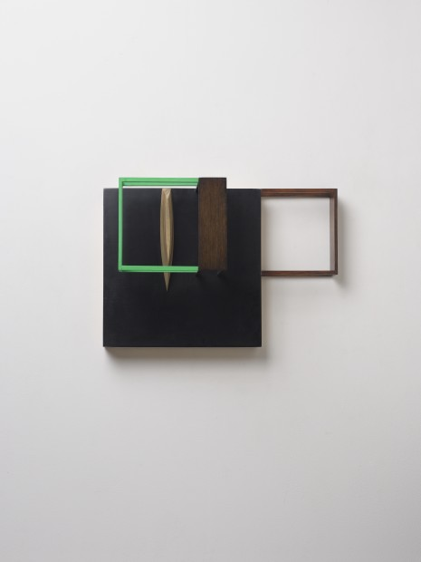 Nahum Tevet, Untitled (With Green) B, 2014
