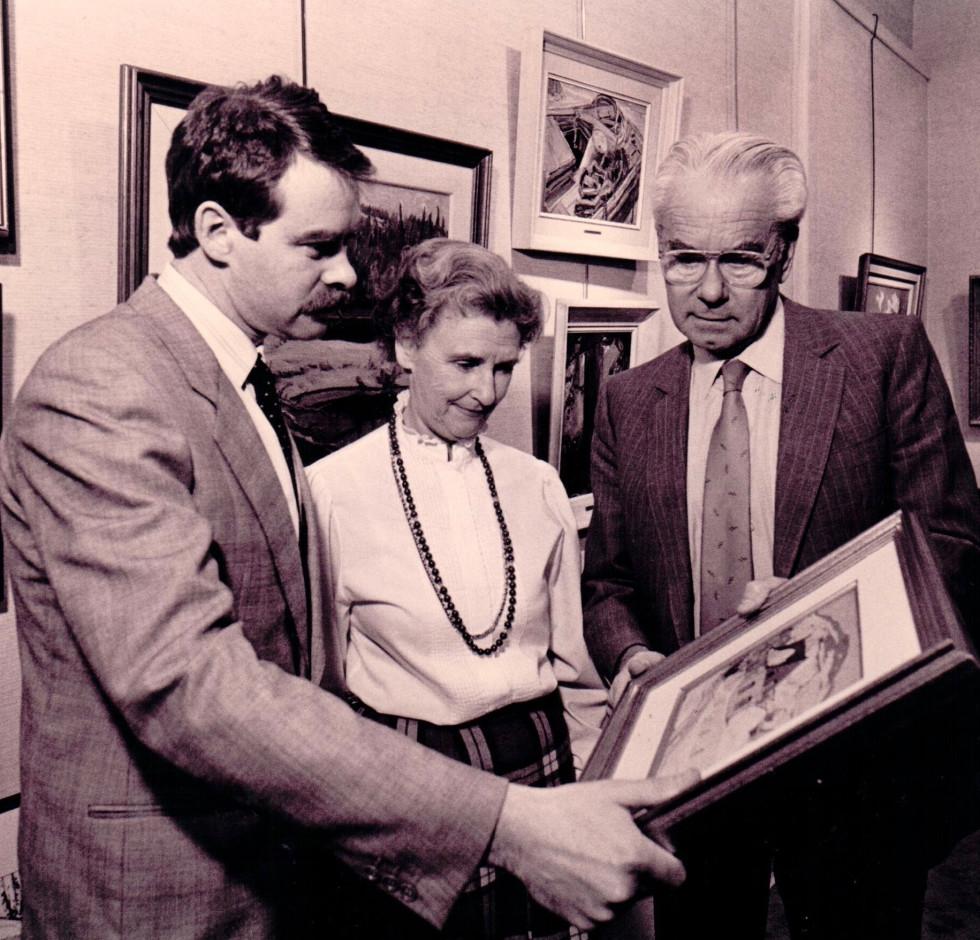 Craig, Alan, Helen and Jonathan Klinkhoff
