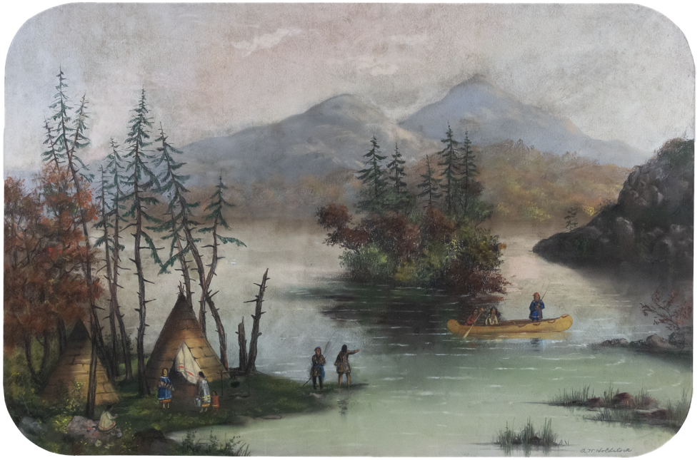 <span class=%22title%22>Indian Encampment (probably in the Thousand Islands)<span class=%22title_comma%22>, </span></span><span class=%22year%22>1870 (circa)</span>