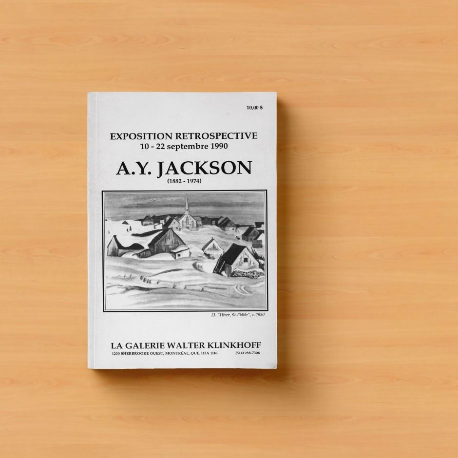 AY Jackson Exhibition Catalog Cover