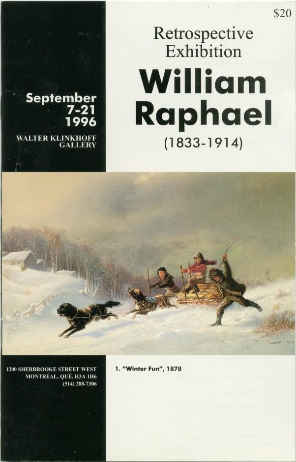 William Raphael R.C.A. (1833-1914) Retrospective Exhibition