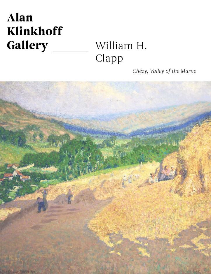An Ephemeral Moment in Time: Clapp's Impressionist Perspective in