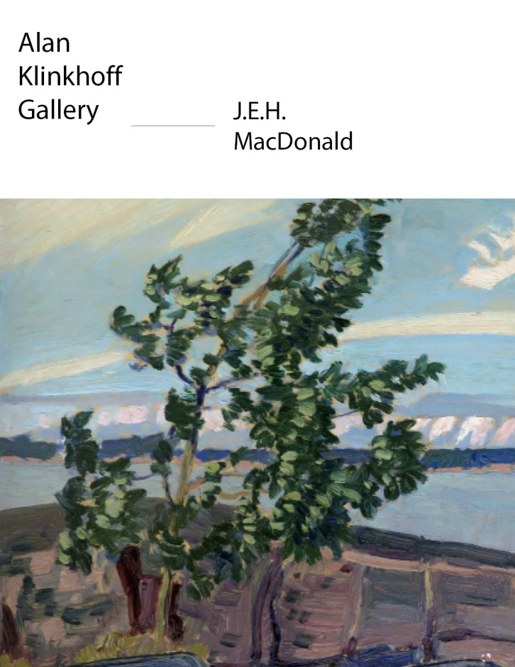 """J.E.H. MacDonald's """"Last Trip to 'North Country'"""""""
