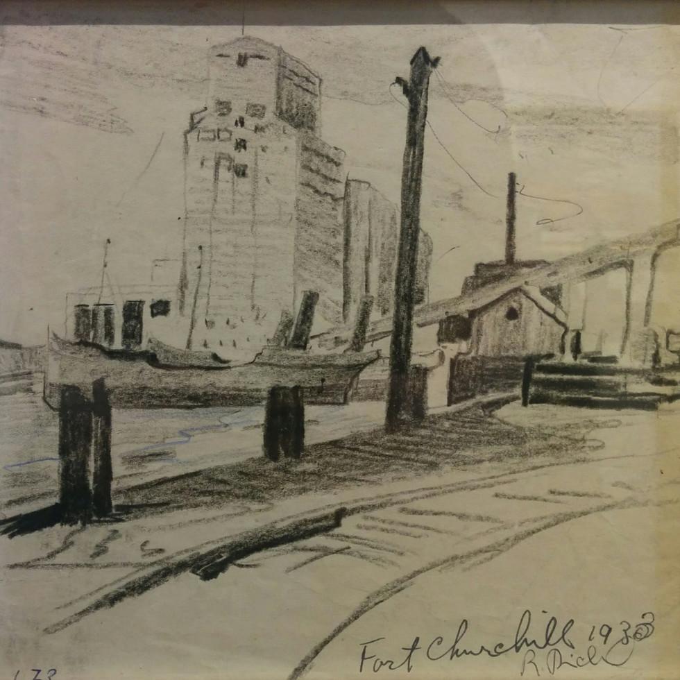 René Richard: Works on Paper