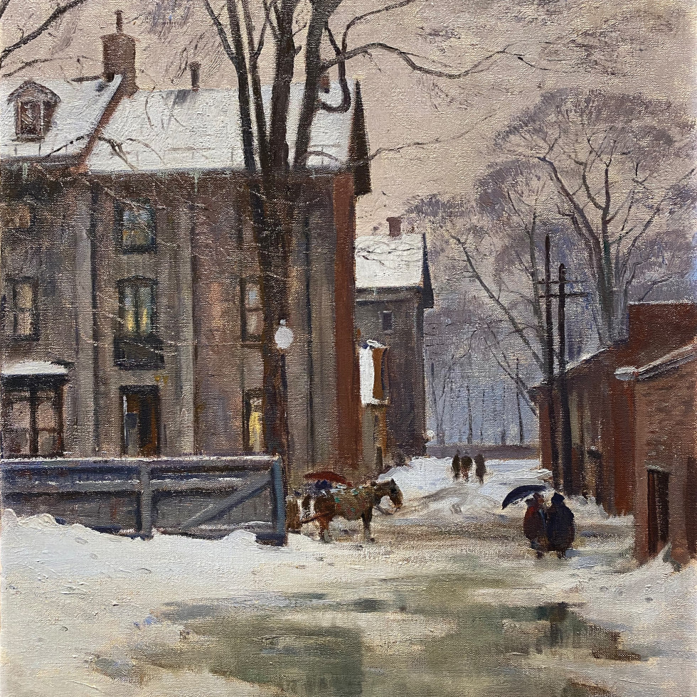 The Lane, Peel Street, Montreal-Robert Pilot