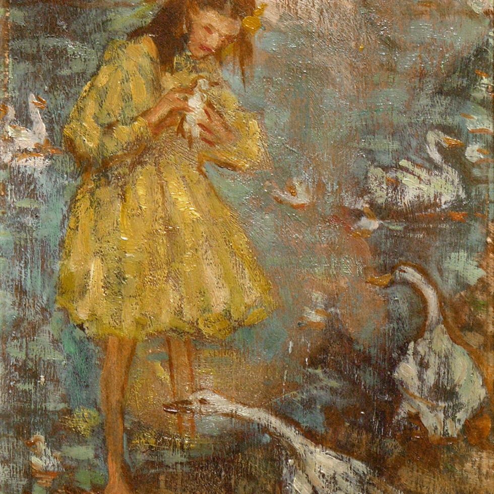 Feeding Ducks-Emily Coonan