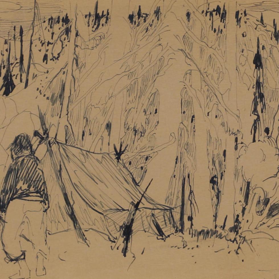 Trappeurs dans le Nord-René Richard