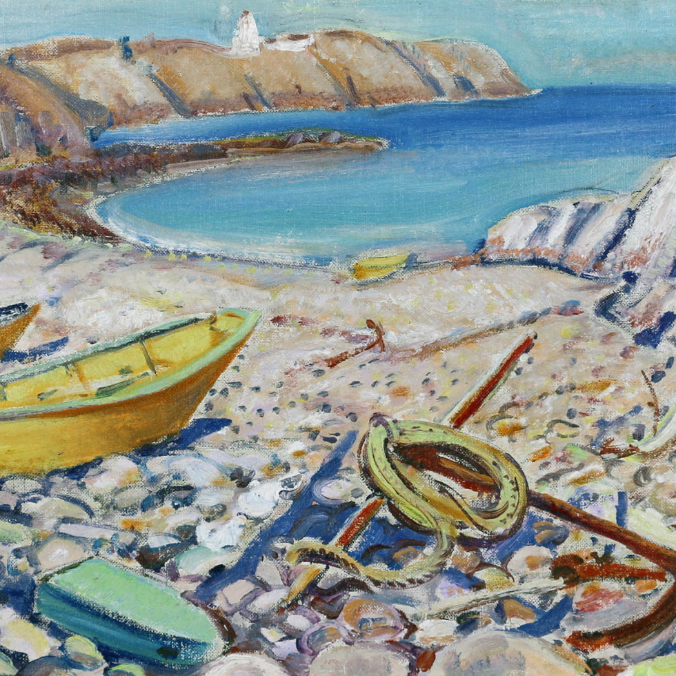 Beach in New Brunswick-Arthur Lismer
