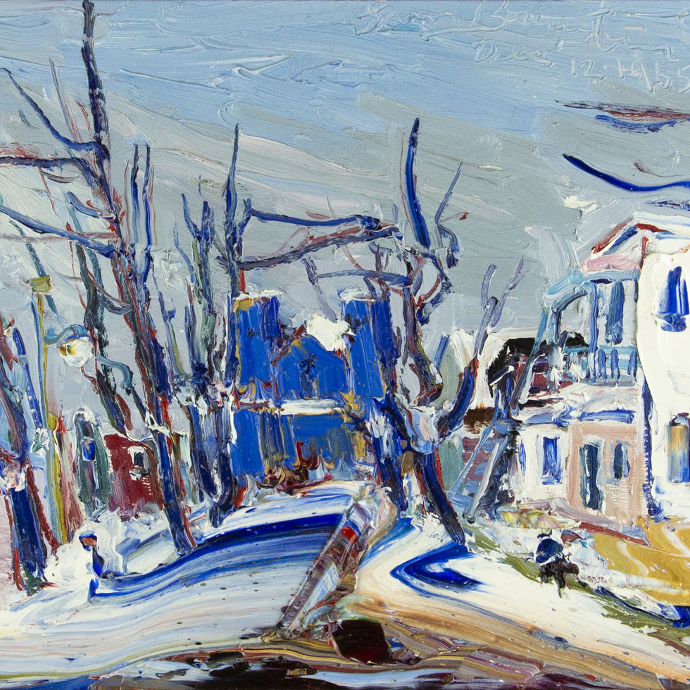 La Rue Ste Agathe, Ste Agathe des Monts-Sam Borenstein