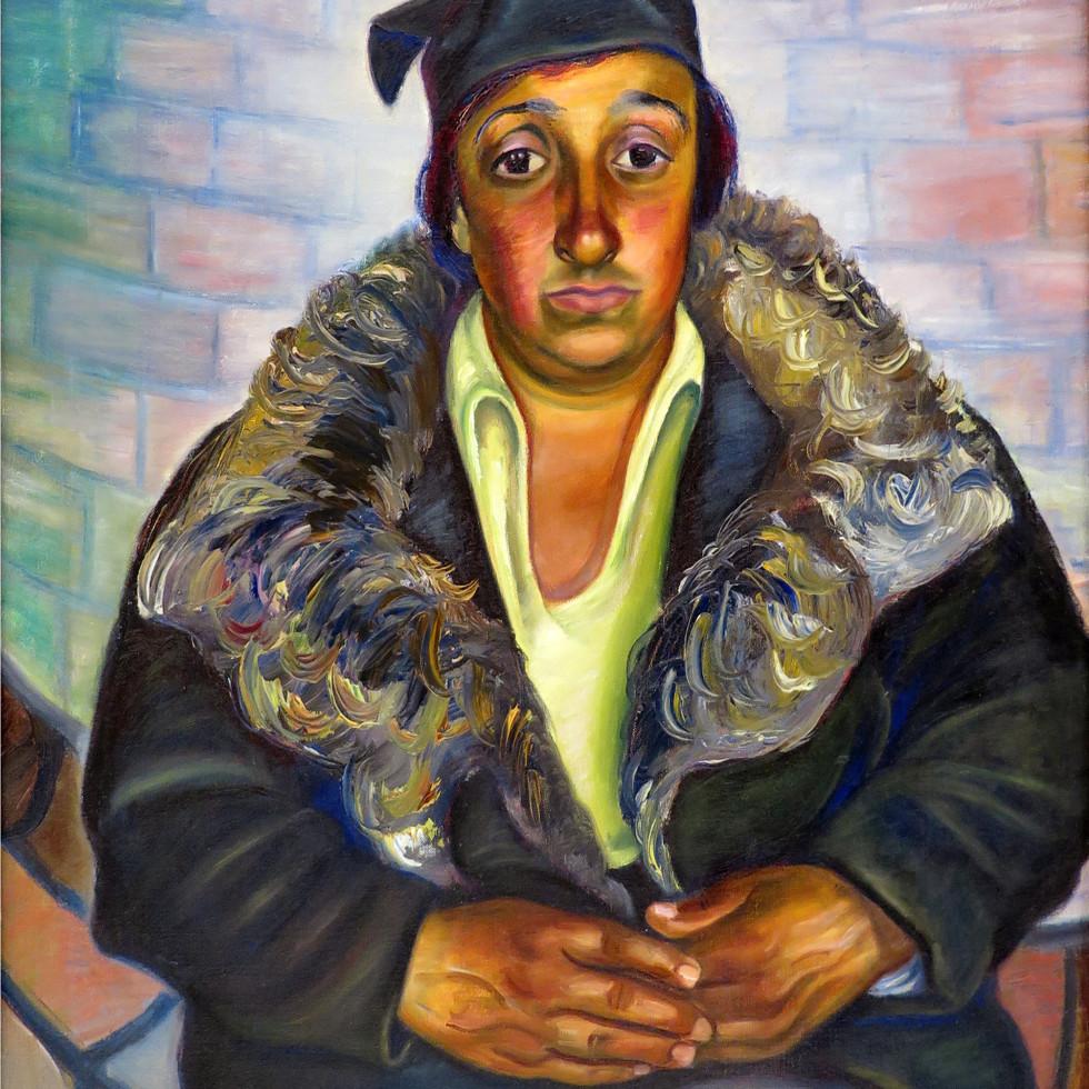 Mrs. Decco (Italian Woman)-Prudence Heward
