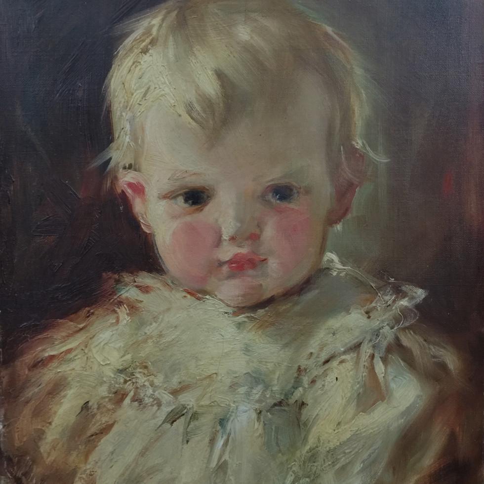 Portrait of a Boy - Portrait d'un jeune homme-Laura Adeline Muntz Lyall, O.S.A., A.R.C.A.