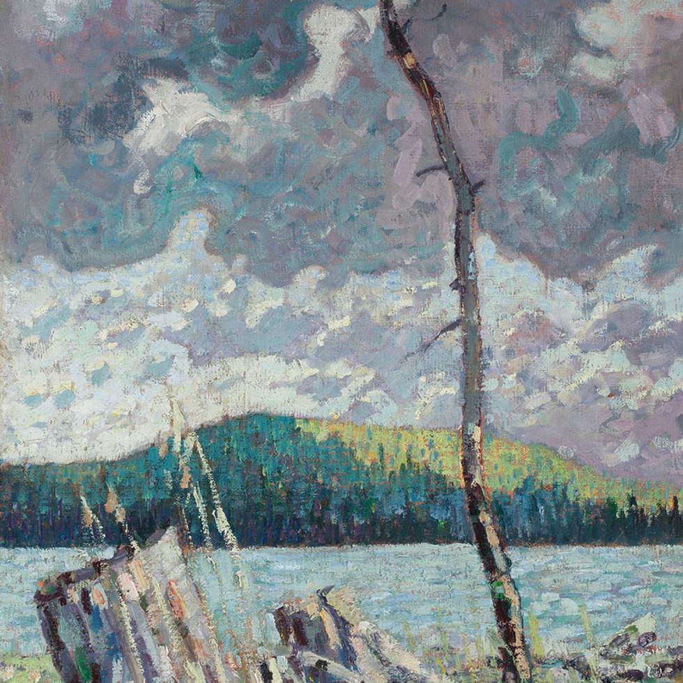 Ragged Lake, Algonquin Park -Arthur Lismer, C.C., LL.D., R.C.A., O.S.A.