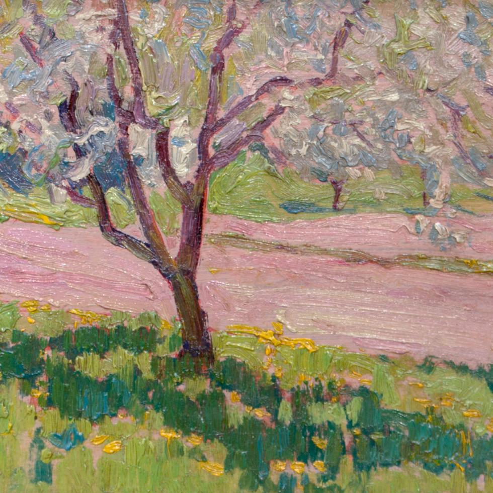 Apple Blossom, York Mills-J.E.H. MacDonald