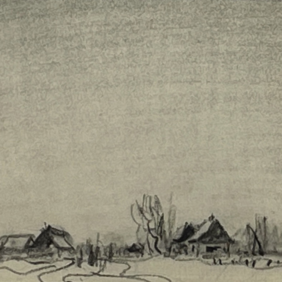 Homestead in Winter, Eastern Townships, Quebec-Frederick Simpson Coburn