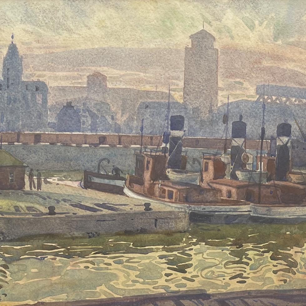 Montreal Harbour-Henry J. Simpkins
