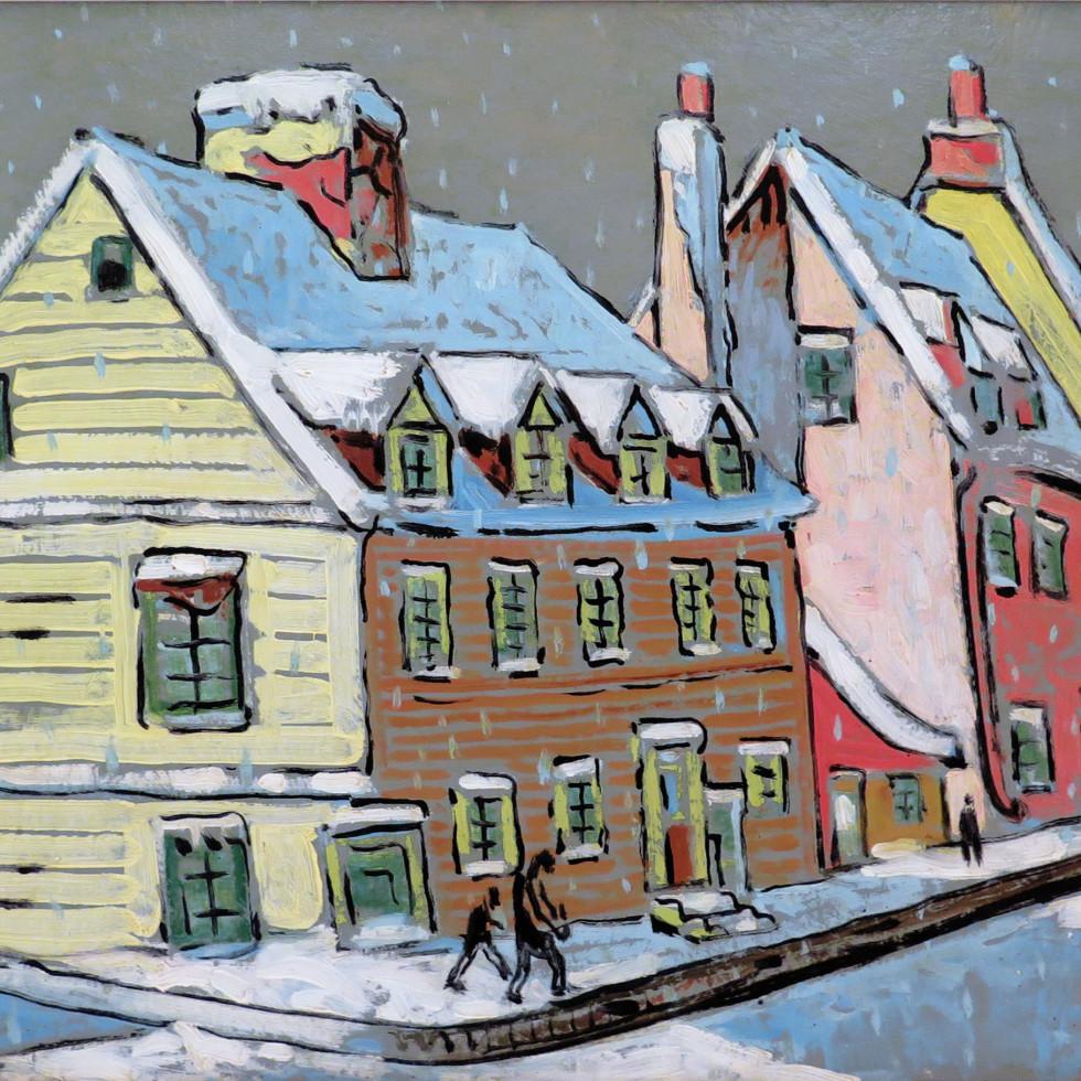 Paysage à Québec-Marc-Aurèle Fortin