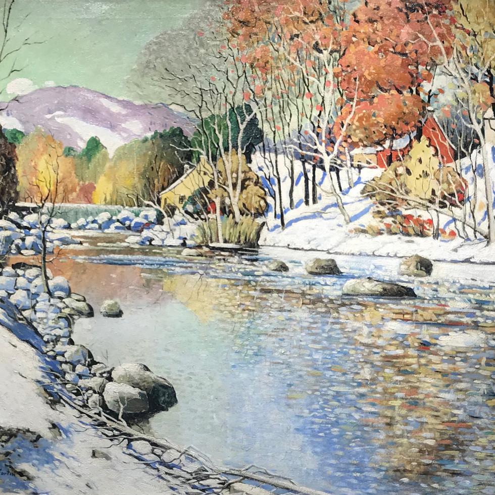 Lafresnière, premières neiges-Marc-Aurèle Fortin
