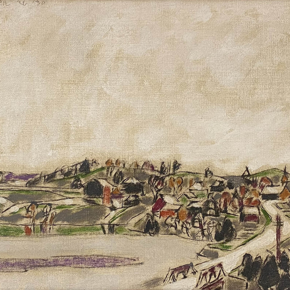 Palgrave across the Pond (Palgrave, Ontario)-David Milne