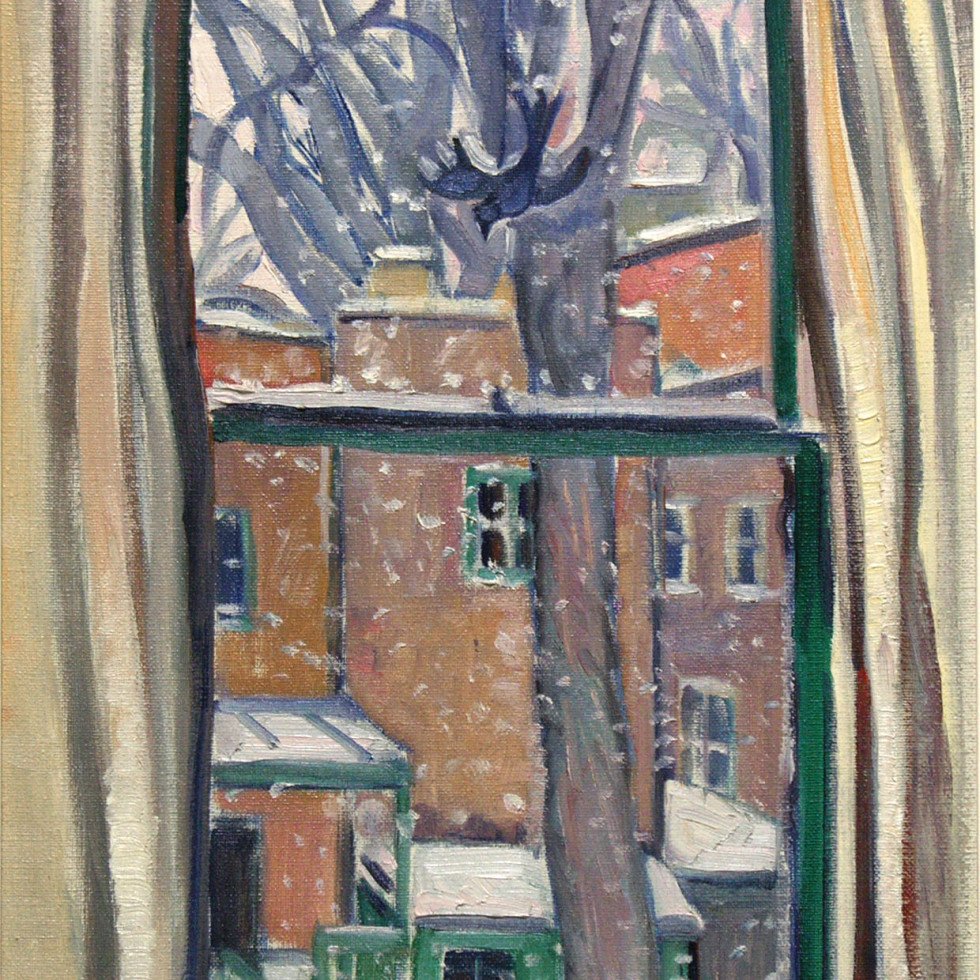 Winter. Elm Avenue Lane-Nora Collyer